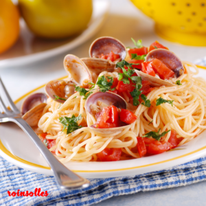 roinsolles risoles - Spaghetti with clams